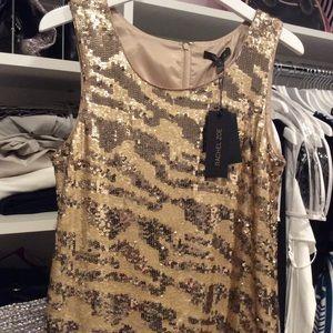 Rachael Zoe sequined sleeve less top